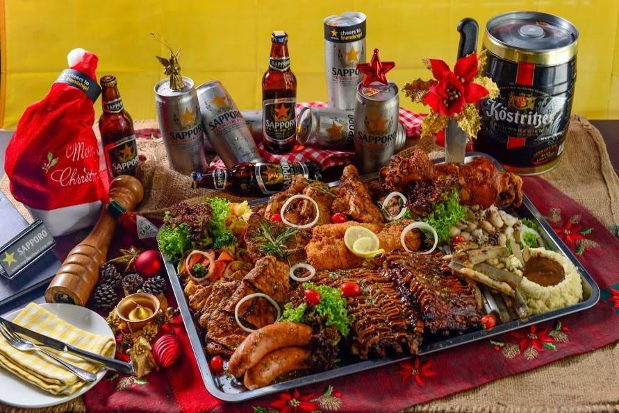 给你这样的圣诞大餐,看你满足没有?! 图取自:脸书