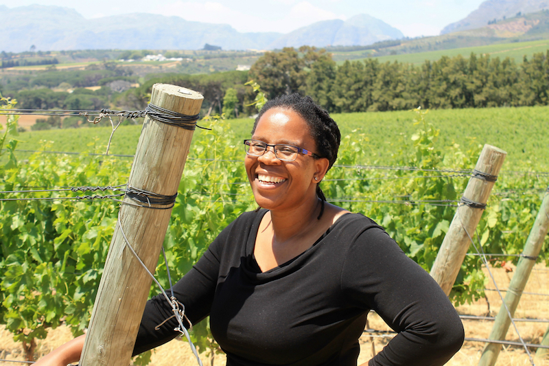 Pioneer winemaker Ntsiki Biyela is launching her own brand, Aslina. — Picture courtesy of Ilana Sharlin Stone/Zester Daily via Reuters