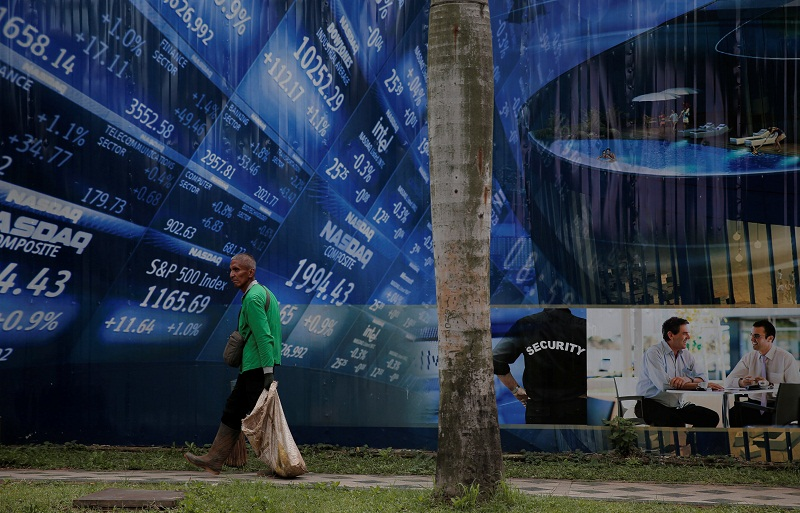 Perekonomian Indonesia tumbuh 7,07 persen pada kuartal April-Juni dibandingkan periode yang sama tahun lalu, kata Badan Pusat Statistik (PBS), Kamis.  - gambar Reuters