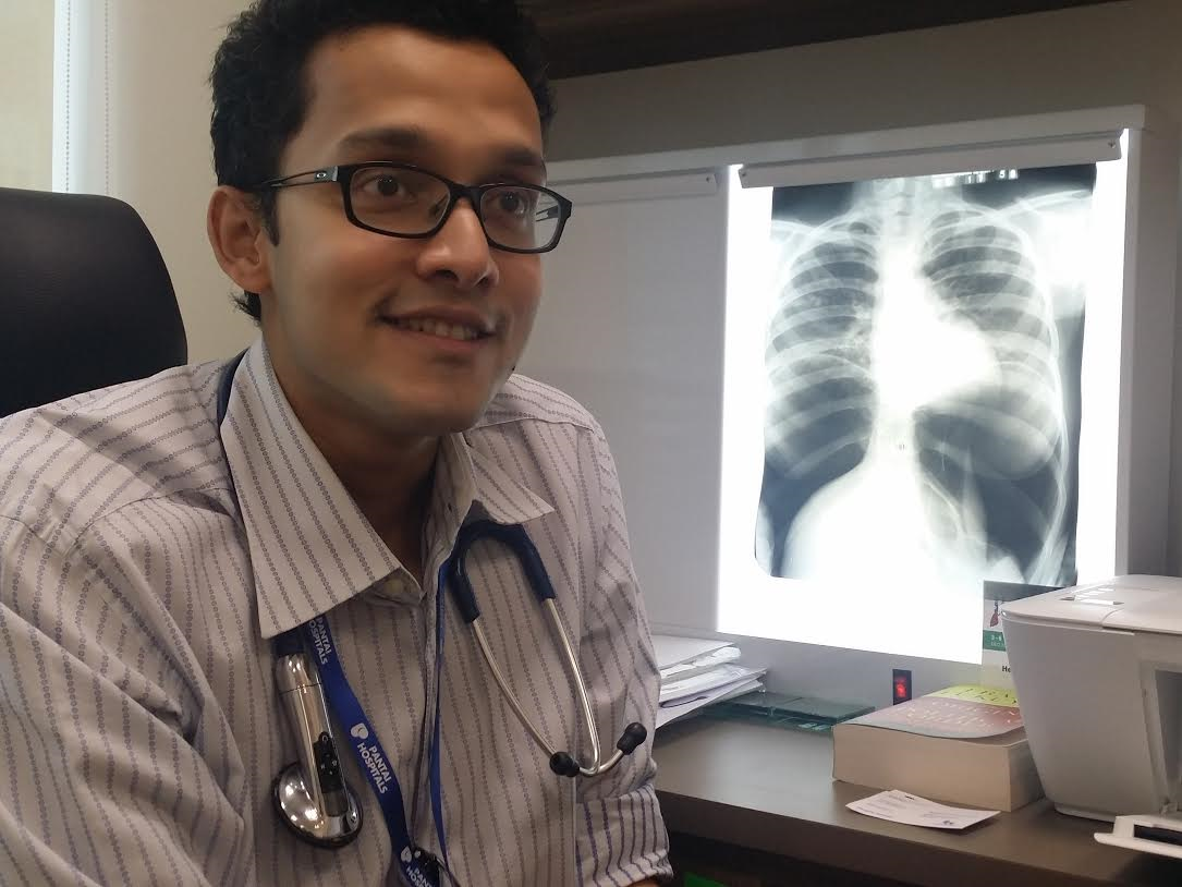 Dr Helmy Haja Mydin says he feels he can contribute more in Malaysia. — Picture courtesy of Dr Helmy Haja Mydin