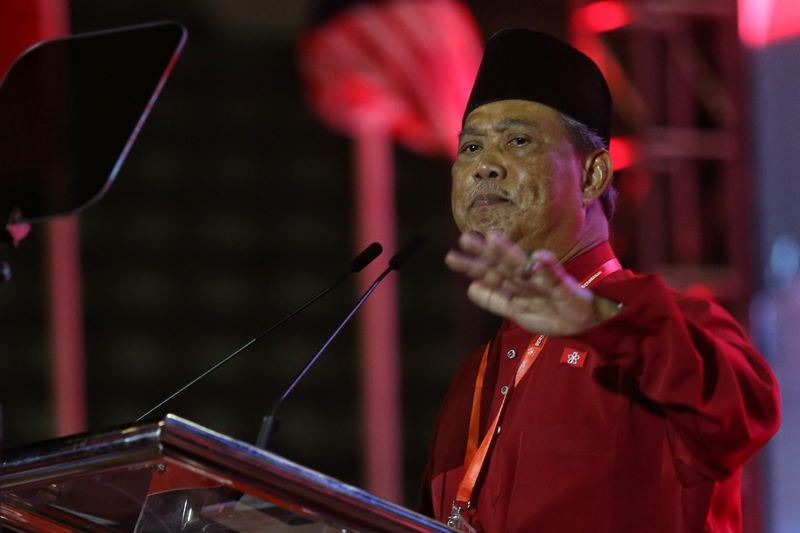 Tan Sri Muhyiddin Yassin says Parti Pribumi Bersatu Malaysia and PAS will enter into negotiations on seat allocations in the next general elections. ― Pix by Saw Siow Feng