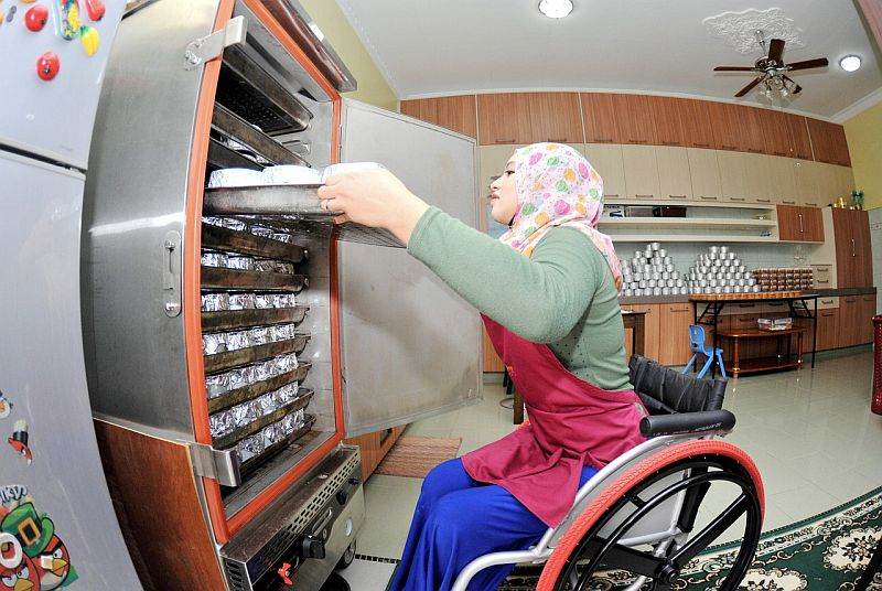 Sabah Health and People's Well-being Assistant Minister Norazlinah Arif said society needs to change the negative stigma towards the OKU as such perception will be an obstacle to them when seeking jobs in the private and public sectors. — Bernama pic