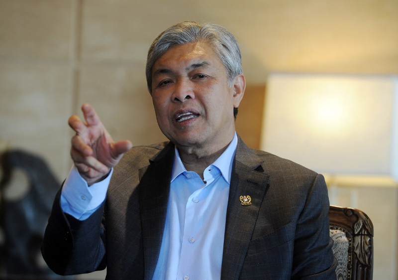 Deputy Prime Minister Datuk Seri Dr Ahmad Zahid Hamidi said the state National Registration Department will gather information on the stateless Sarawakian Chinese and make the necessary recommendations on those who meet the criteria to be citizens. — Bernama pic