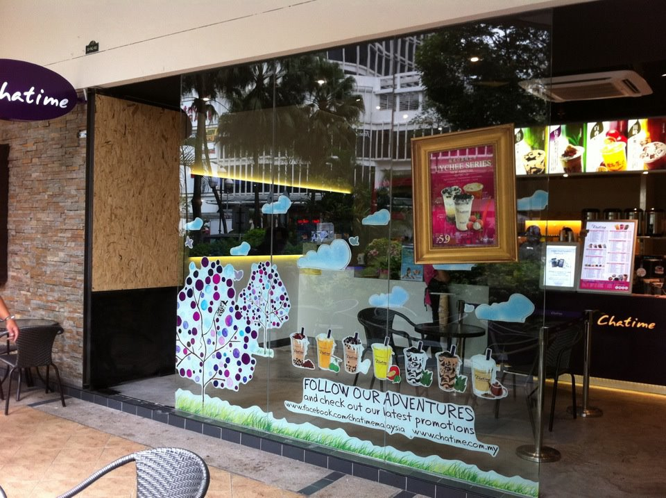 A Chatime outlet in Mont Kiara to be rebranded as Tealive. — Picture from Facebook