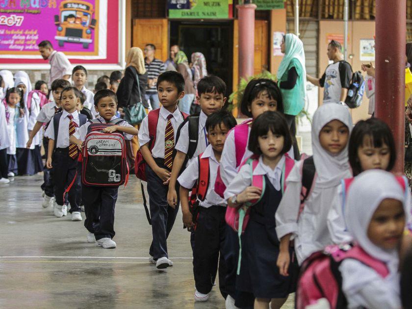 马来西亚五大宗教谘询理事会要求教育部撤回让Yadim在学校传教的决定。-Yusof Mat Isa摄-