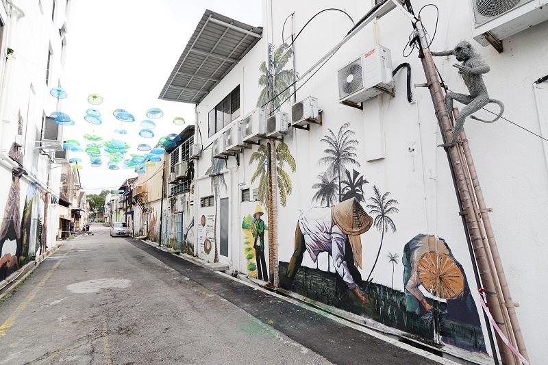 The Butterworth Art Alley.