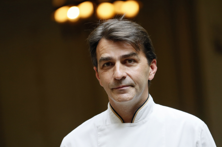 French chef Yannick Alleno. — AFP pic