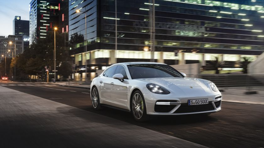 The Volkswagen AG unit said 60 per cent of buyers of its revamped Panamera four-door coupe opted for the partly battery-powered version from its sales start in June through October. — AFP pic