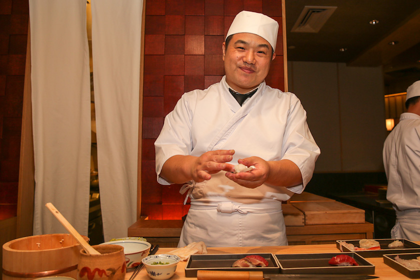 The KL outpost of Sushi Azabu will be headed by Chef Toshihide Terado. — Picture by Choo Choy May