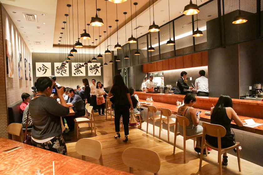 The dining area for Tonkatsu Anzu. — Picture by Choo Choy May