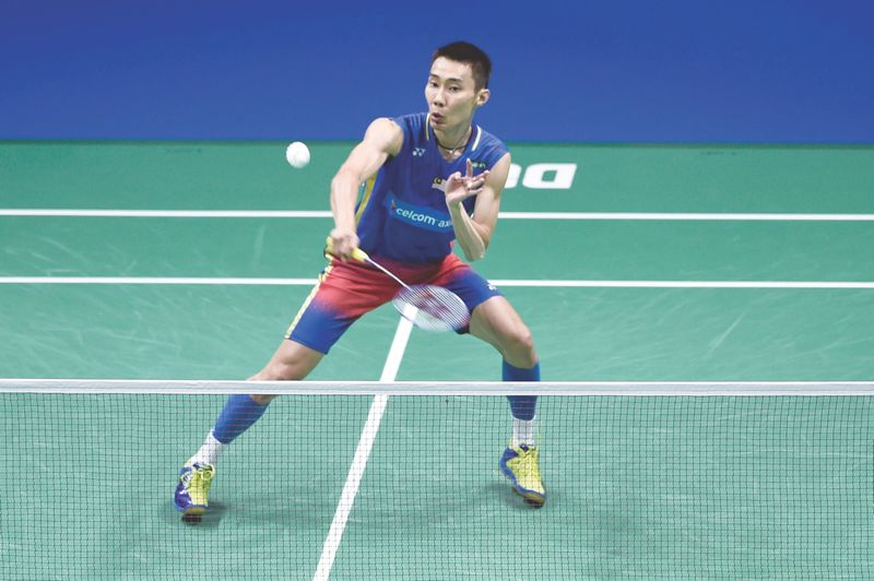 Lee Chong Wei must rest for at least six weeks. — Malay Mail pic