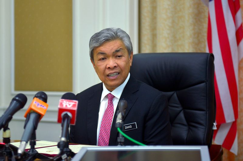 Datuk Seri Dr Ahmad Zahid Hamidi says Malaysians should respect Islam as the  federal religion as enshrined under the Constitution. — Bernama pic