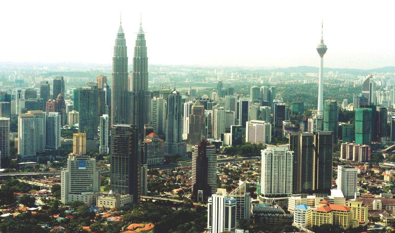 A bird's eye view of Kuala Lumpur's fast-developing skyline. ― Malay Mail pic