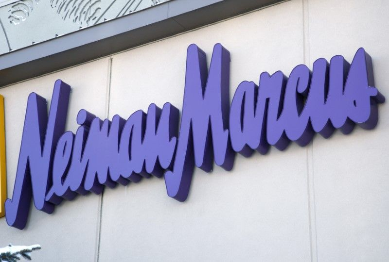 The Neiman Marcus sign outside a store in Golden, Colorado December 9, 2009. — Reuters pic