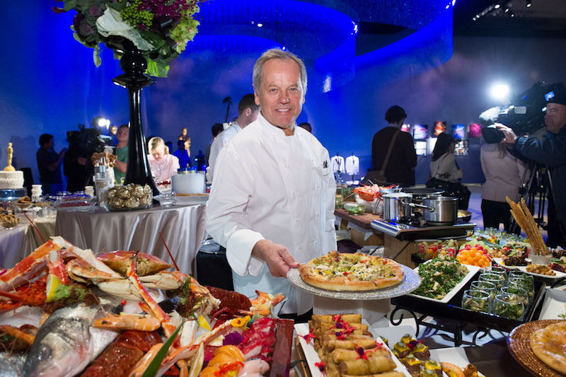 Chef to the stars Wolfgang Puck will be joining Andres at Disney Springs. — AFP pic
