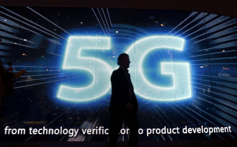 Companies that adopt 5G technologies can also get tax incentives if they meet standards set by the government, according to the Bill. — Reuters pic