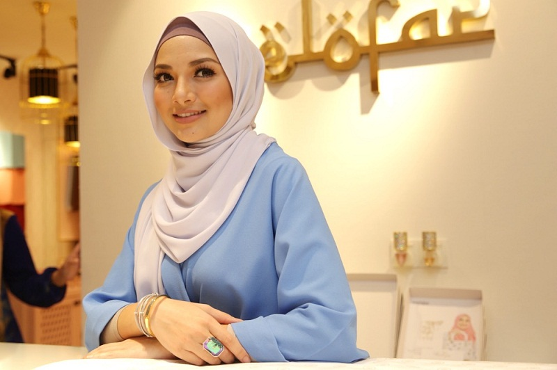 Kosmo reported that Neelofa (pic) took to her Instagram account to promote the product by giving information on the recommended dosage for infants and children. — Picture by Choo Choy May