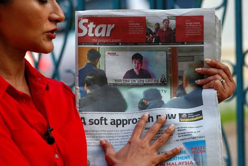 The local media group has been pushed to downsize its organisation to remain afloat. — Reuters pic