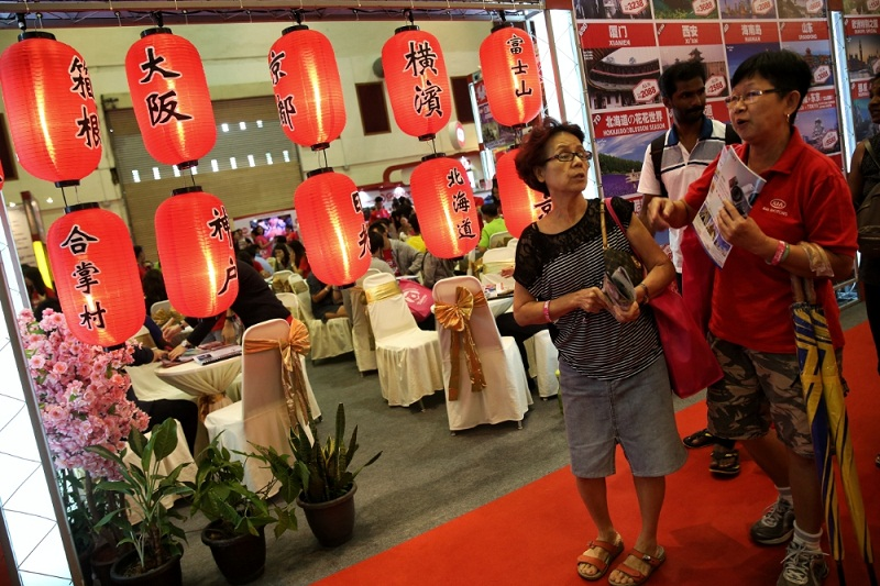 Matta, a travel association which holds the famous annual Matta travel fair, has managed to gather over 120,000 visitors and recorded over RM220 million in sales during its 2017 fair.  — Picture by Saw Siow Feng