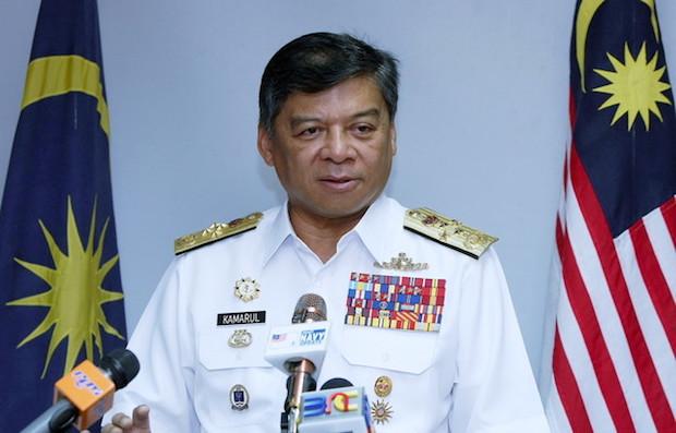 Tan Sri Ahmad Kamarulzaman Ahmad Badaruddin took to the Royal Malaysian Navy's Facebook page to assure seamen and their families that their votes are secret. — Bernama pic