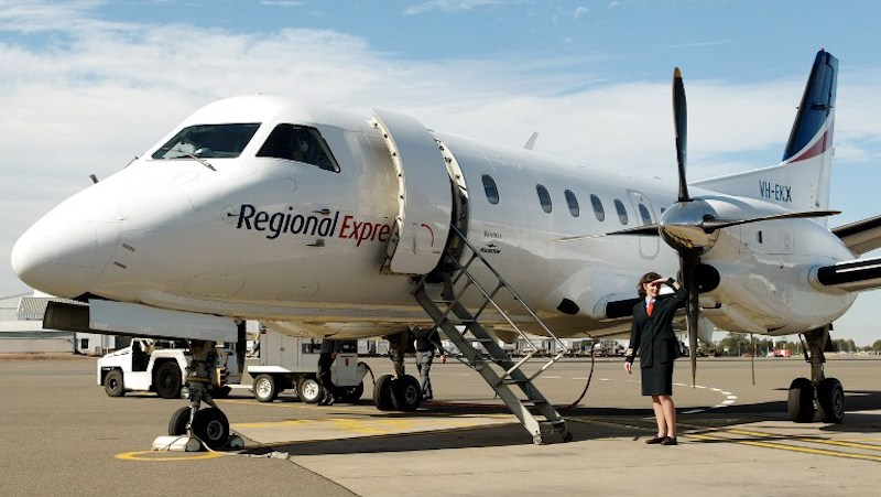Regional Express Airlines (REX) has grounded six planes from its fleet after a propeller fell off one of them as it approached Sydney airport. — AFP pic