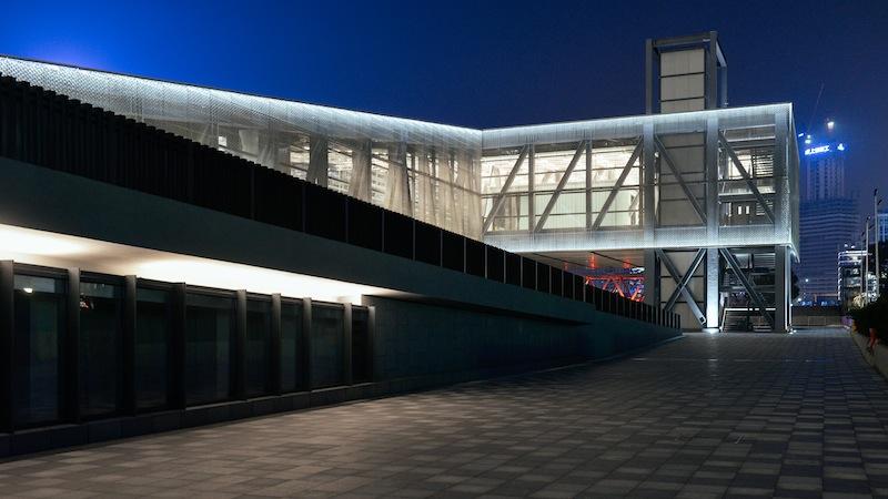 Shanghai Lujiazui Harbour City Exhibition Centre.— AFP pic