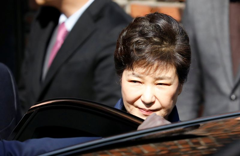Park Geun-hye became South Korea's first democratically elected leader to be thrown out of office when, in 2017, the Constitutional Court upheld a parliament vote to impeach her over a scandal that also landed the heads of two conglomerates in jail. — Reuters pic