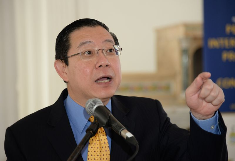 Lim Guan Eng says his administration will sue the Election Commission (EC) in protest of its delimitation exercise. ― Picture by KE Ooi
