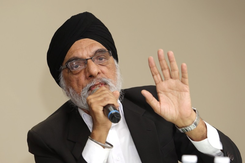 MCCBCHST vice president Jagir Singh said the withdrawal of Section 88A in the Law Reform (Marriage and Divorce) (Amendment) Bill 2016 would cause injustice. — Picture by Choo Choy May