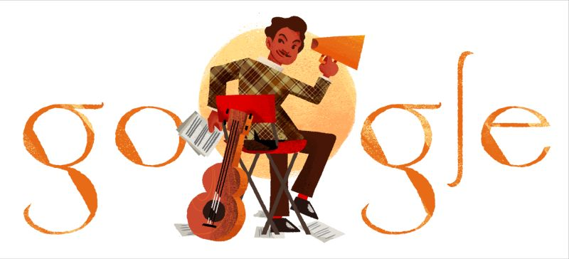 Today's Google Doodle highlights Malaysian legend Tan Sri P. Ramlee's diverse artistry  that transcended the entertainment scene and won the people's hearts. ― Pictures courtesy of Google