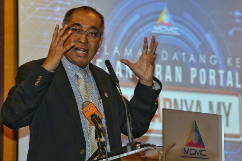 Datuk Seri Salleh Said Keruak said Steam was blocked after it failed to comply with the 24-hour ultimatum given by the ministry to disable downloads of the 'Fight of Gods' game by Malaysian users. ― Picture by Saw Siow Feng