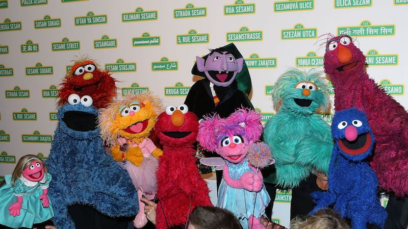 'Sesame Street' has released videos featuring two new muppets to educate children about race. — AFP pic