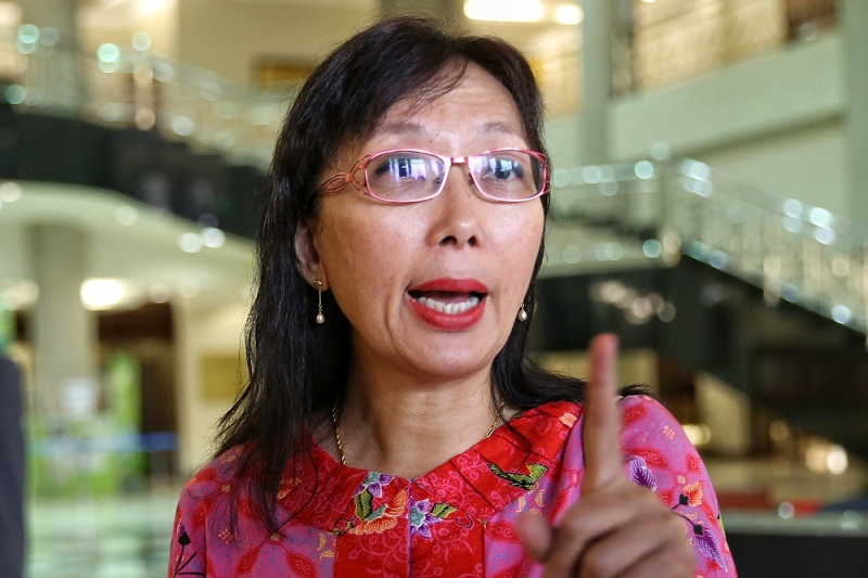 Seputeh MP Teresa Kok said she could sympathise with the female activist who was subjected to insults and sexual harassment for her support of the right to spoil one's vote in the 14th general election. —  File picture by Saw Siow Feng