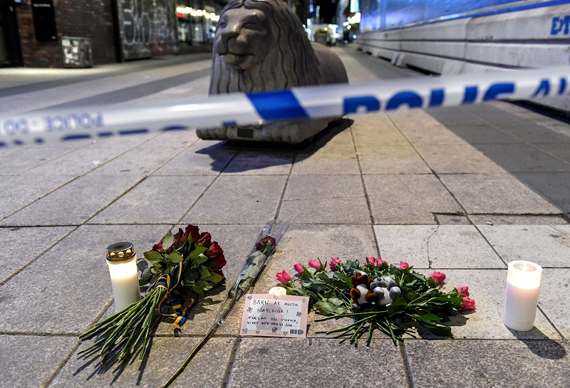 Akilov is said to have drove a beer truck that mowed down pedestrians on a busy street in Stockholm. — Reuters pic