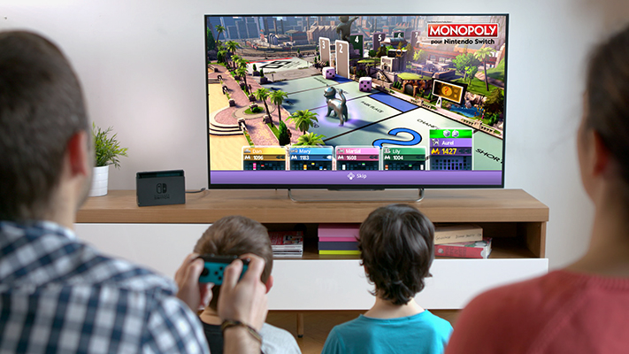 'Monopoly' for Nintendo Switch is due out in fall 2017. — Pictures courtesy of Ubisoft and Hasbro