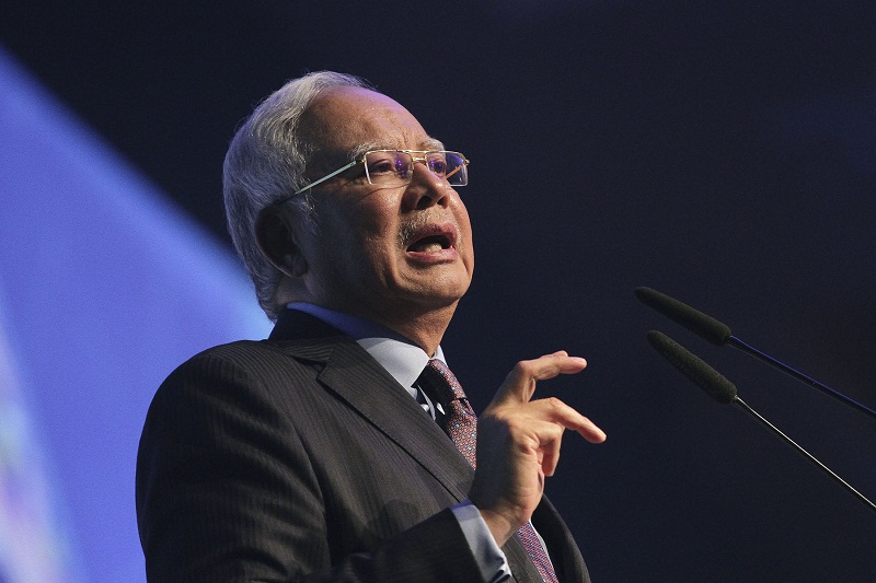 The PM said defending every group in Malaysia is the commitment of the BN-led government. — Picture by Yusof Mat Isa