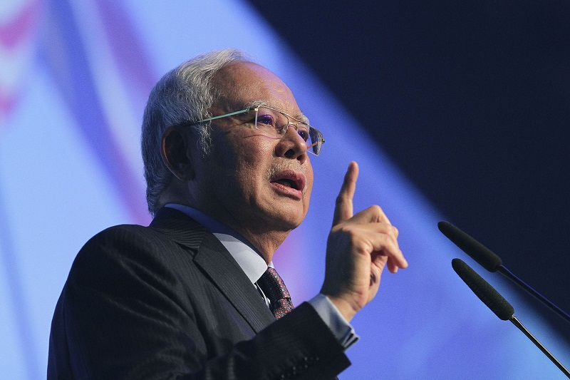 Najib said Kuala Lumpur had been consistent in its strong condemnation of the series of nuclear tests that had been conducted by the Democratic People's Republic of Korea. — Picture by Yusof Mat Isa