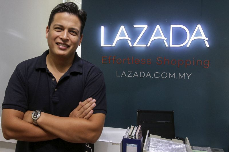 Lazada CEO, Hans-Peter Ressel speaks to Malay Mail Online during an interview at his office in Kuala Lumpur April 26, 2017. — Picture by Yusof Mat Isa