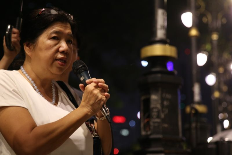 Susanna Liew told a three-man panel set up by Suhakam investigating several missing pastors and activists that Harapan Komuniti instructed its volunteers not to preach. ― Picture by Saw Siow Feng