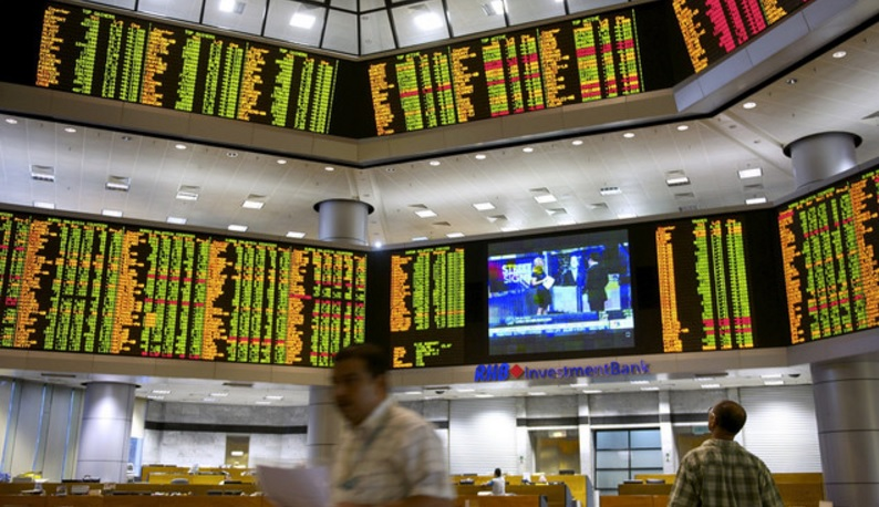 Mild selling pressure has pulled down the Bursa Malaysia main index to a slightly lower opening. — Bernama pic