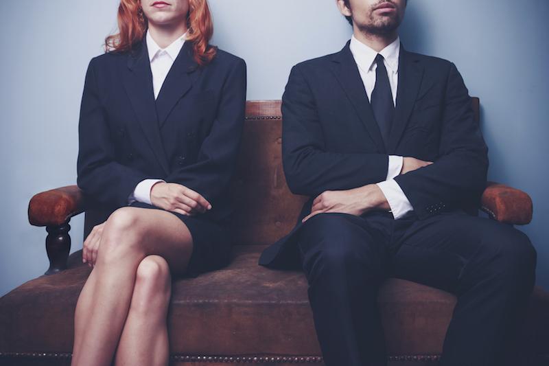 Divorce is a hot topic on TV screens. — IStock.com pic via AFP