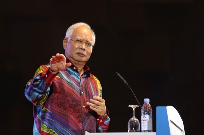 Prime Minister Datuk Seri Najib Razak called on Malaysians to inculcate the value of love among them. ― Picture by Saw Siow Feng