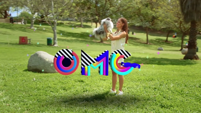 Snapchat has launched new 3D World Lenses. — Screengrab from YouTube