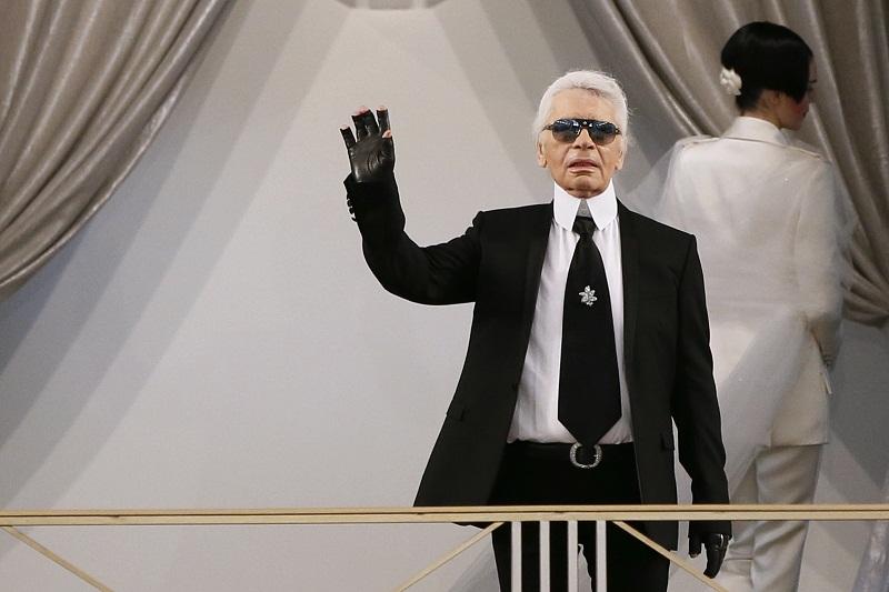 German fashion designer Karl Lagerfeld. — APF pic
