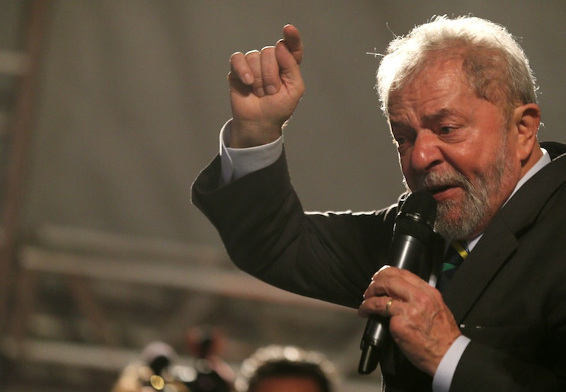 Lula, the popular but tarnished leftist who led Brazil through an economic boom from 2003 to 2010, was jailed in 2018 on charges of taking bribes from companies seeking juicy contracts at state oil giant Petrobras. — Reuters pic