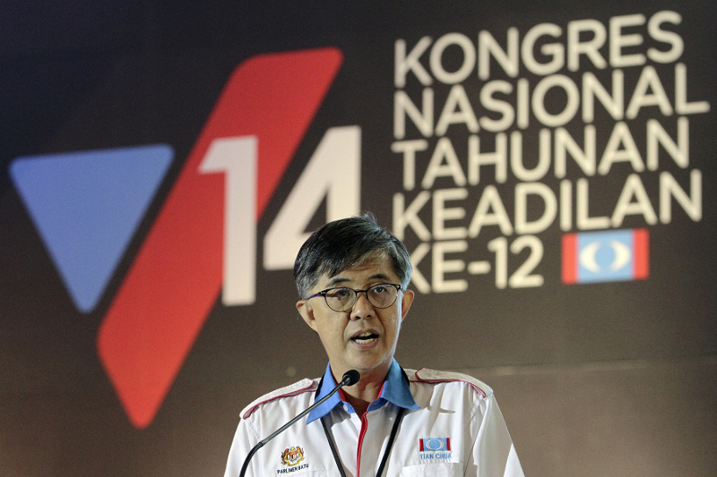 Chua said the Bill imposed a form of psychological censorship and is draconian in nature. — Picture by Yusof Mat Isa