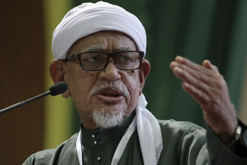 Datuk Seri Abdul Hadi Awang says Malay Muslims should lead Malaysia as they are the dominant community. ― Picture by Yusof Mat Isa