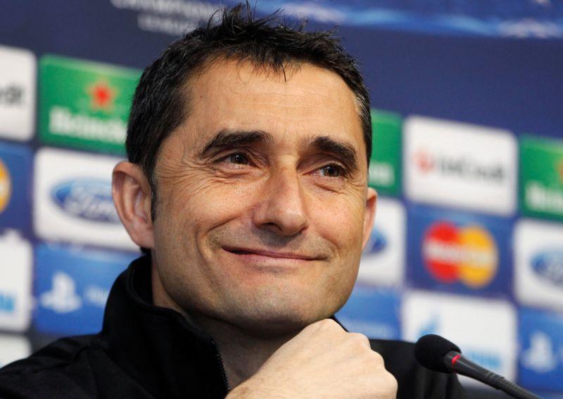 File photo of Ernesto Valverde. ― Reuters pic
