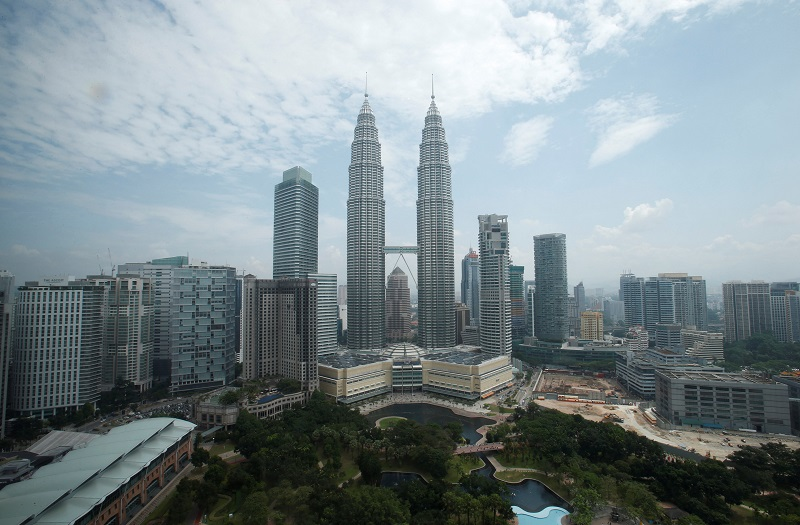 Kuala Lumpur has been ranked by the Economist Intelligence Unit as a safer place to live in compared to other major cities in the world. — Reuters file pic
