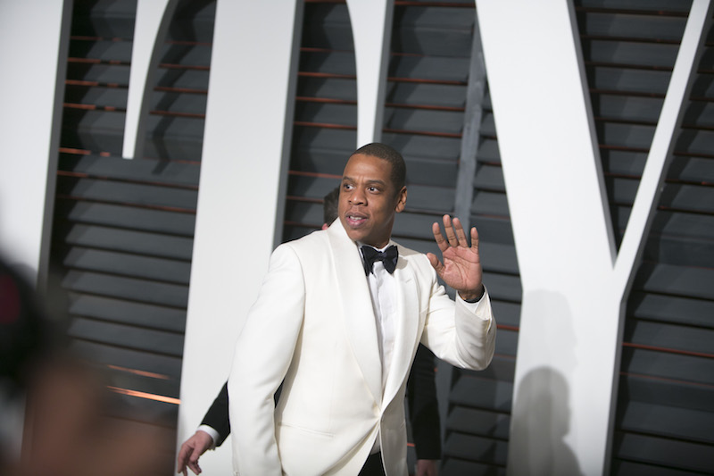 Jay-Z became the first rapper to enter the Songwriters Hall of Fame on June 15, 2017. — AFP pic